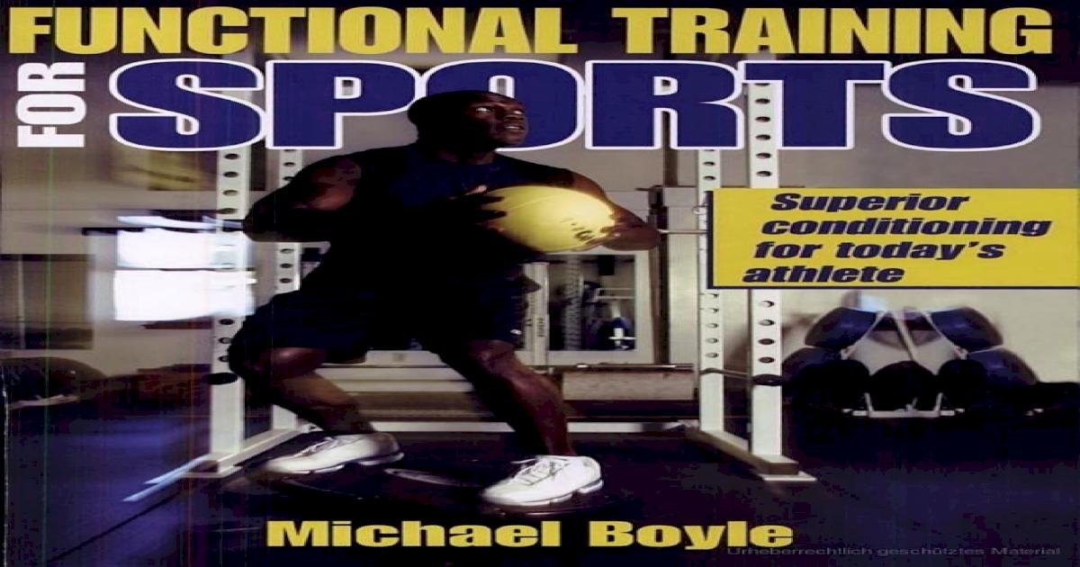 Functional michael training pdf boyle