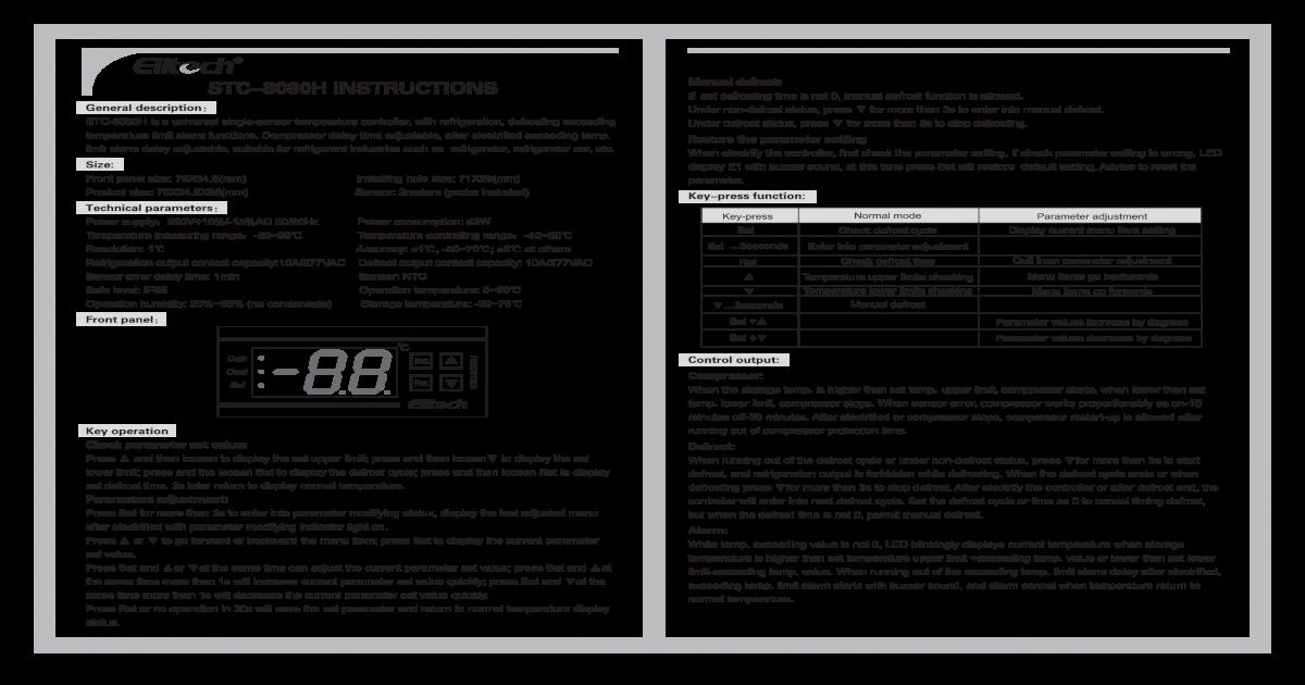 stc 8080h instruction manual rh docslide net