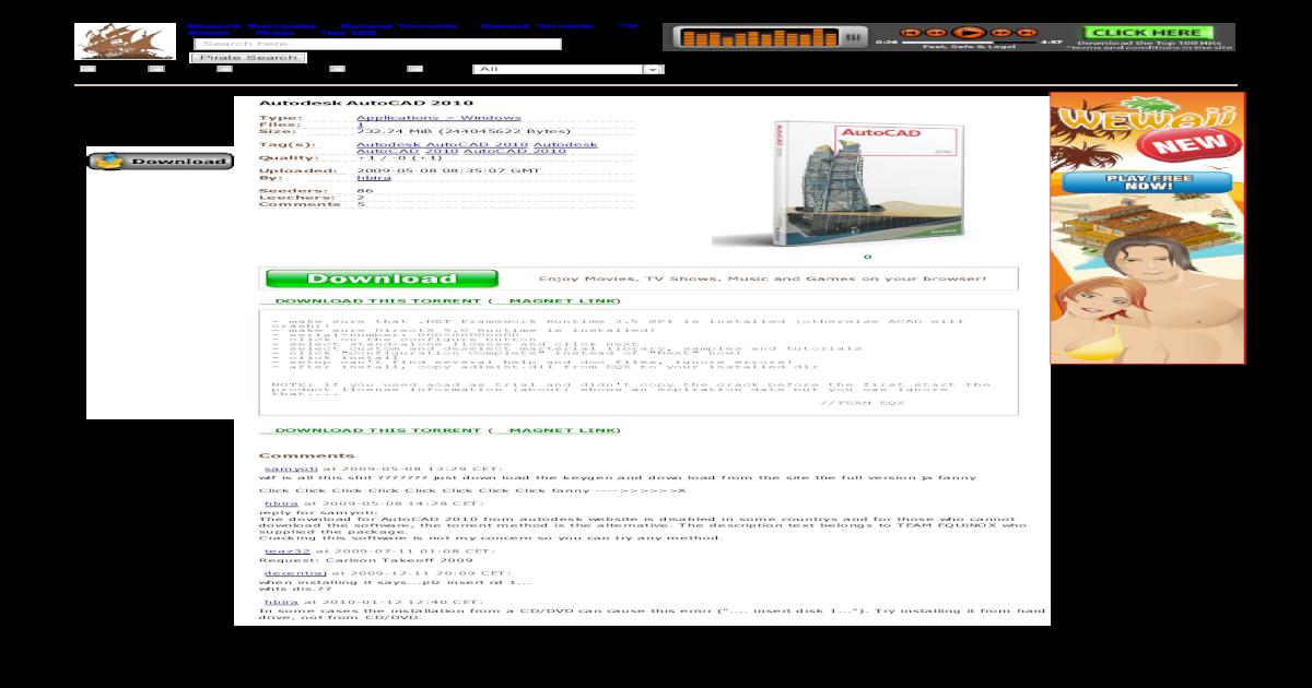 torrent autocad 2010
