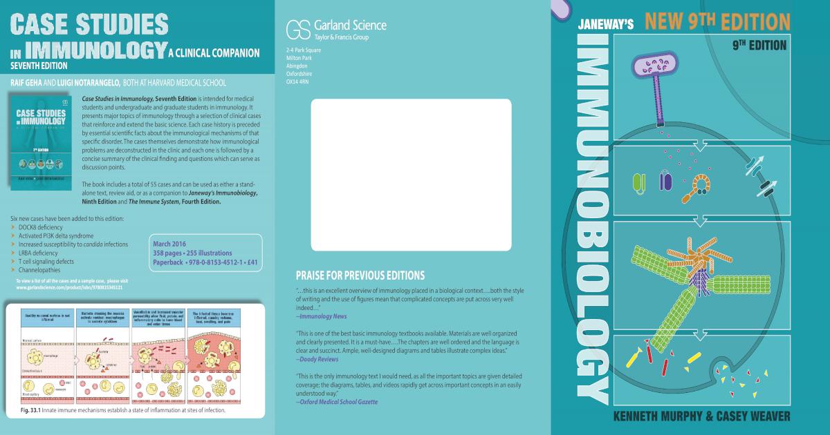 Janeways Immunobiology 9 Edition 2016
