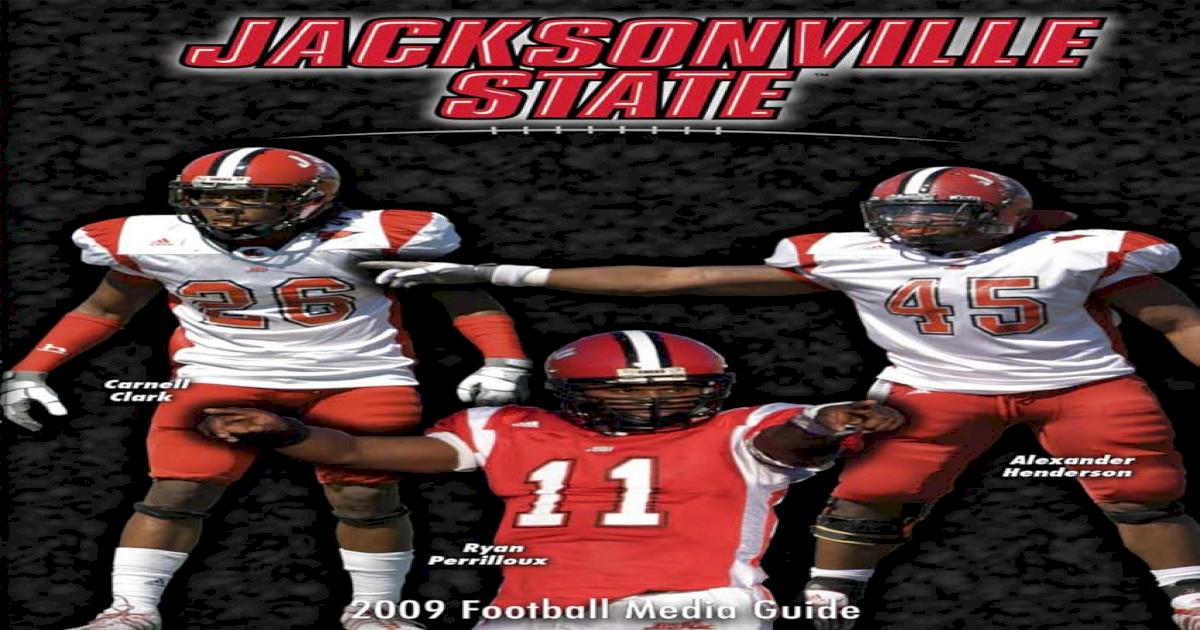 2009 JSU Football Media Guide dba48c9c9
