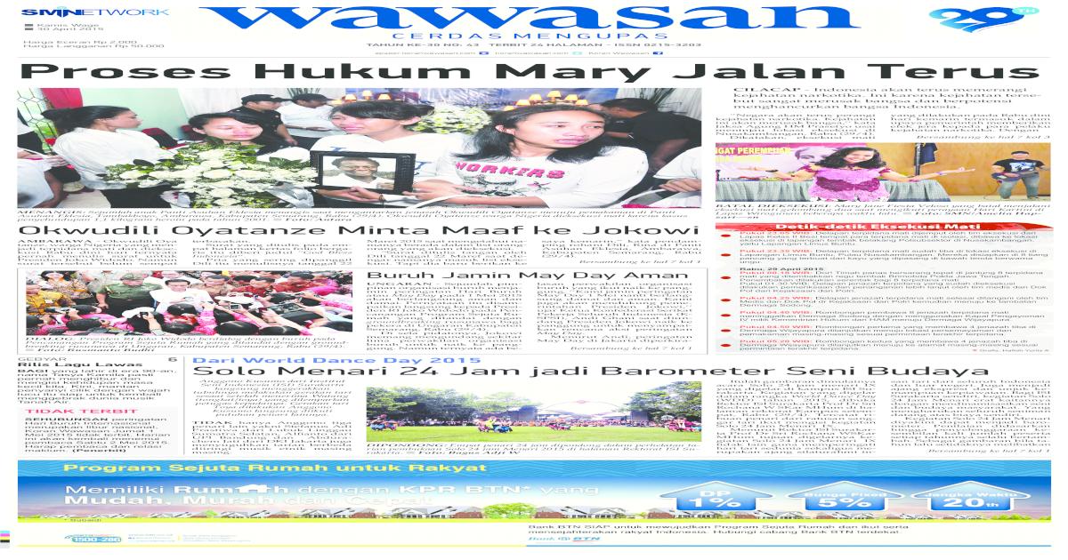 Wawasan 30 April 2015