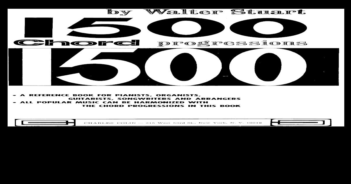 1500 Chord Progressions By Walter Stuartpdf