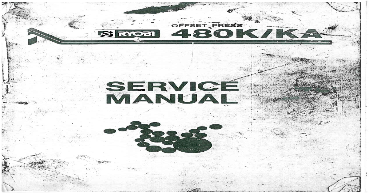 ryobi 480k ka manual de servicio