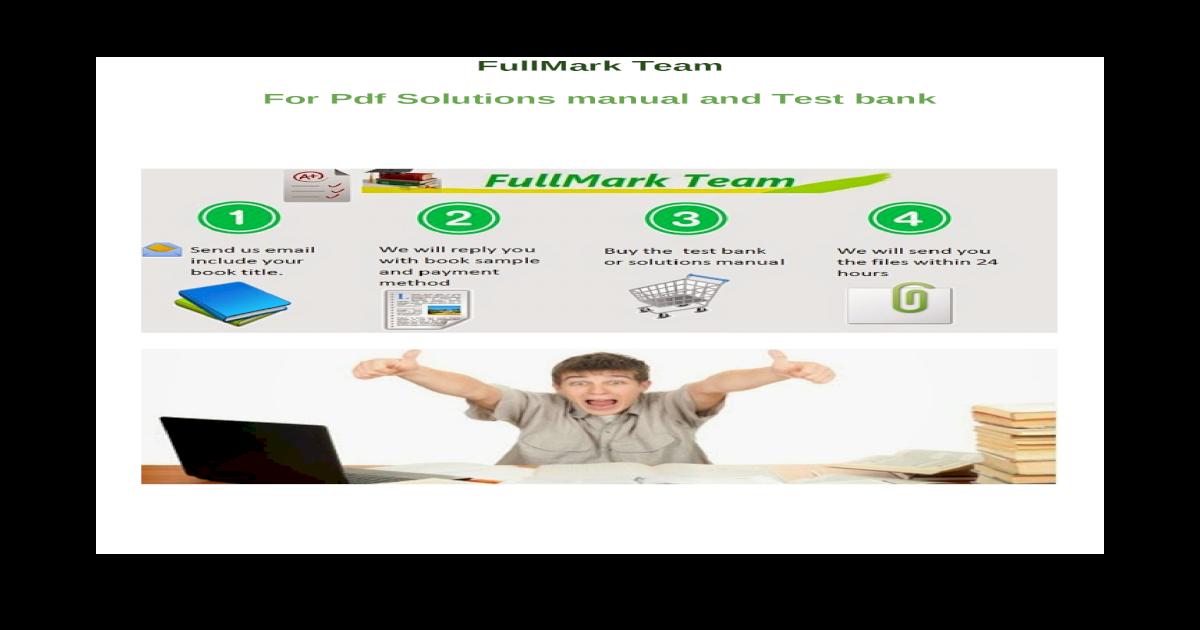 management test bank solutions manual