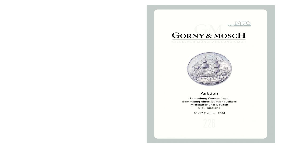 Auktionskatalog 49 Kricheldorf Münzen Und Medaillen Spezieller Sommer Sale Antiquitäten & Kunst