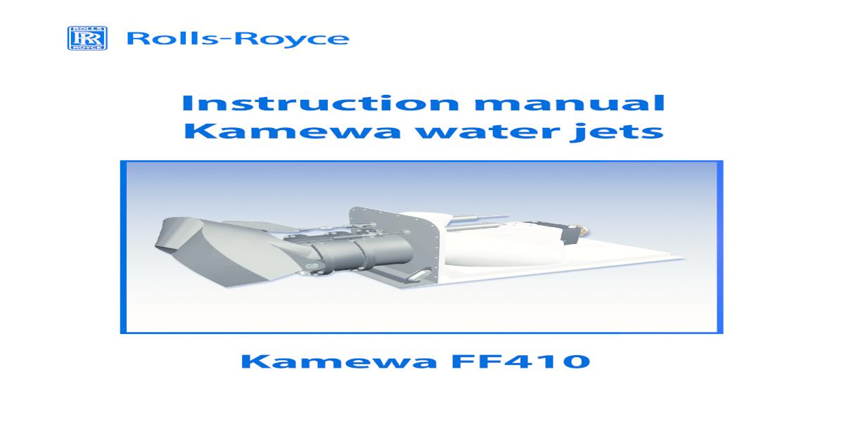 manual for waterjet ff410 rh docslide net