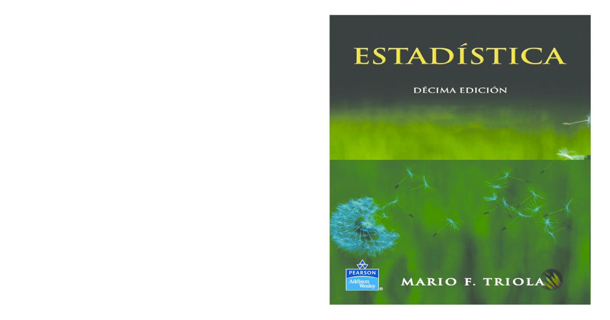 ba3fa29c93 Triola Mario F - Estadistica 10 Edicion