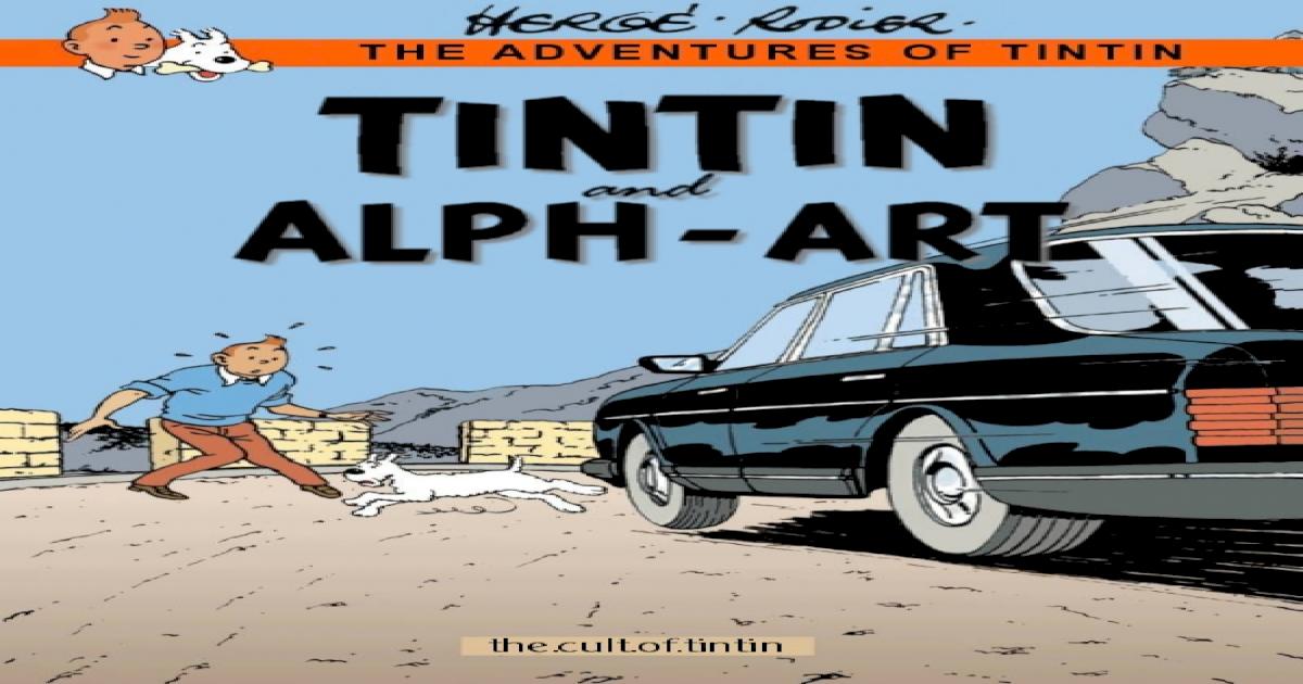 Yves Rodier Tintin And Alph-art Pdf