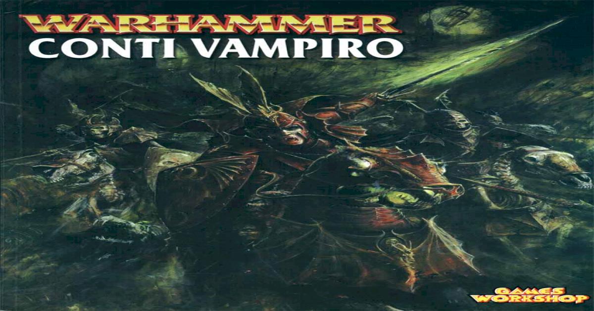 Warhammer Conti Vampiro Pdf