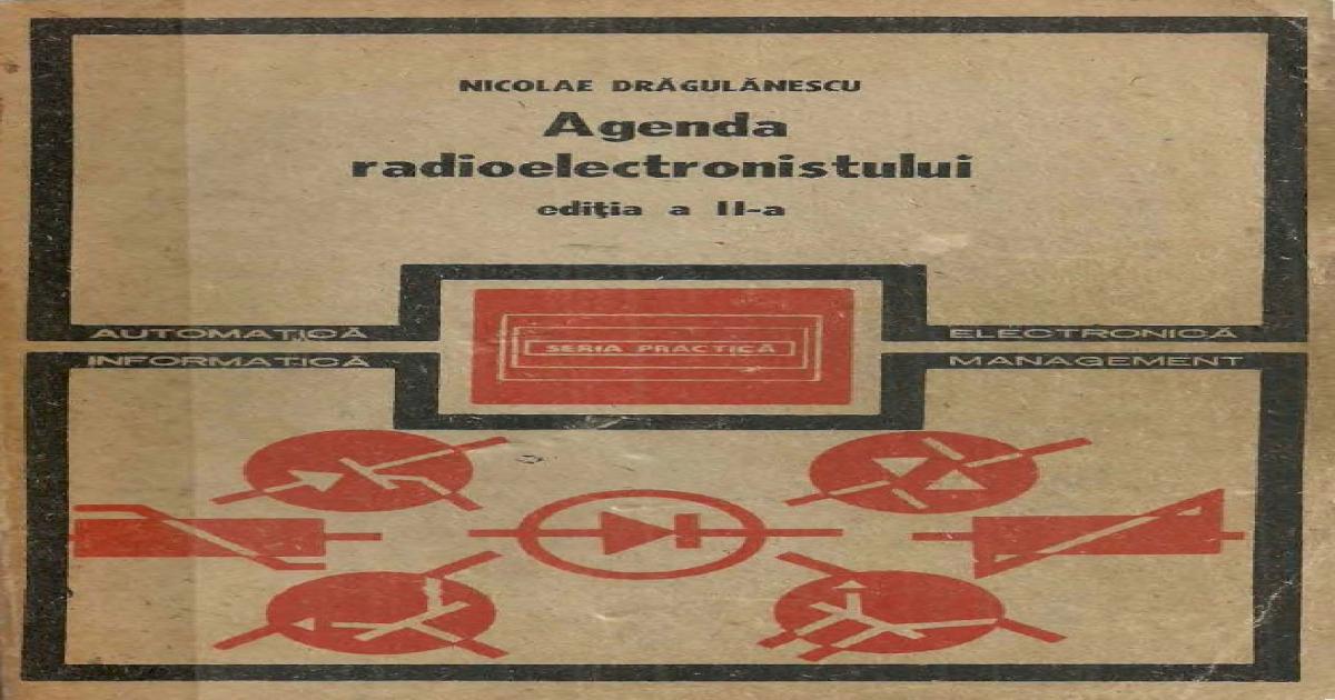 Agenda Electricianului Epub