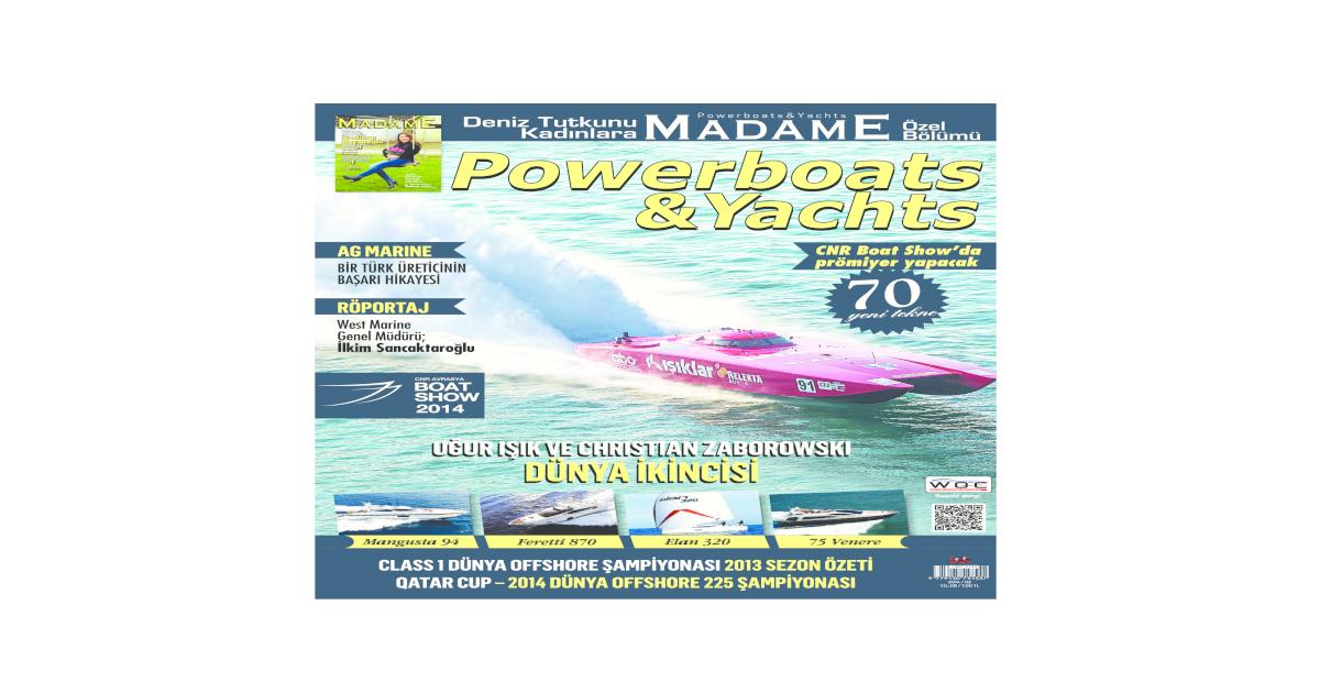 Powerboatsyachts Magazine February March 2014