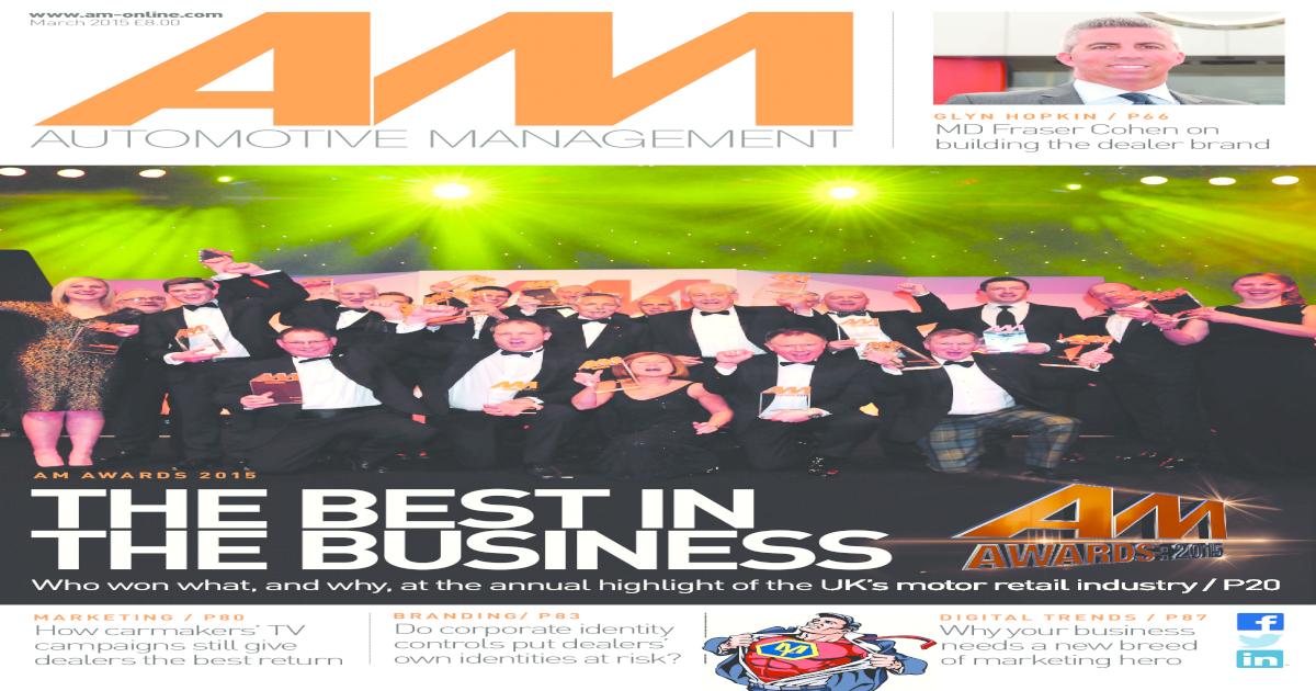 AM - Automotive Management magazine March 2015 preview