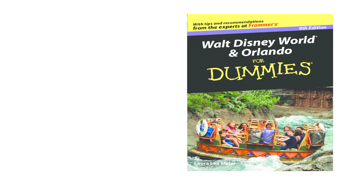 be62bf889e89b Walt Disney World   Orlando For Dummies (Walt Disney World and Orlando for  Dummies)