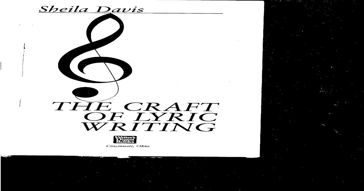 Sheila Davis The Craft Of Lyric Writingpdf