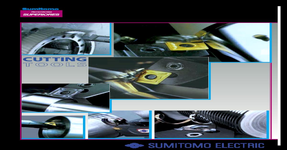 RCMX 160600 AC10 SUMITOMO INSERTS