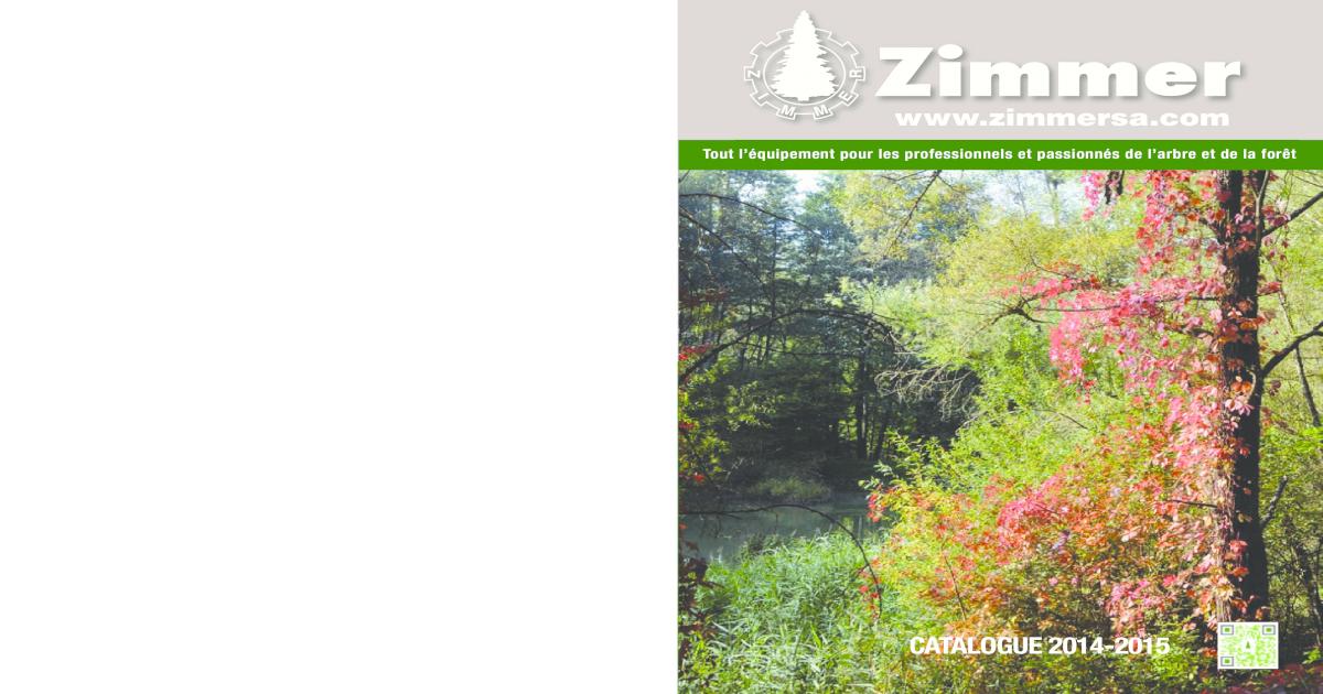 ZIMMER CATALOGUE GENERAL 2014 2015 d1c52f9af80